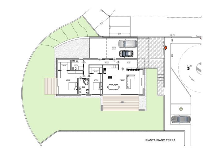 Progetto casa unifamiliare - Costo impianto idraulico casa 150 mq ...