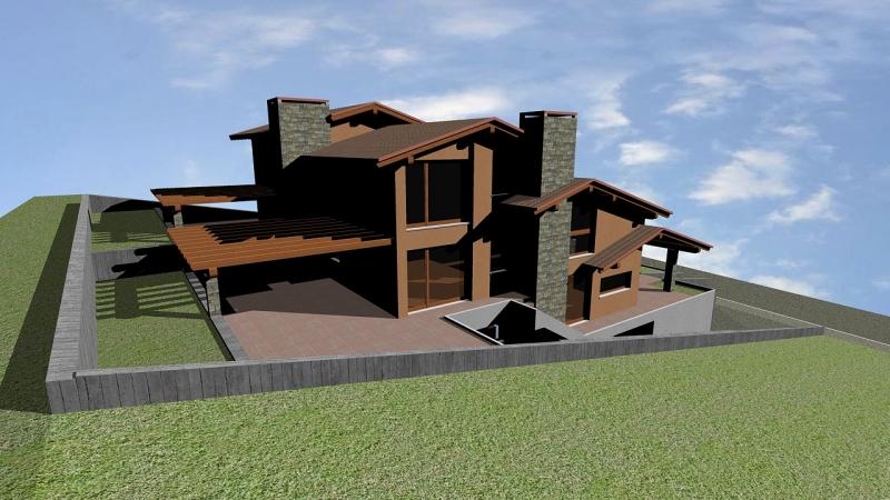 Calcolo strutture casa dal lago studio pasin progetti - Pianta casa bifamiliare ...