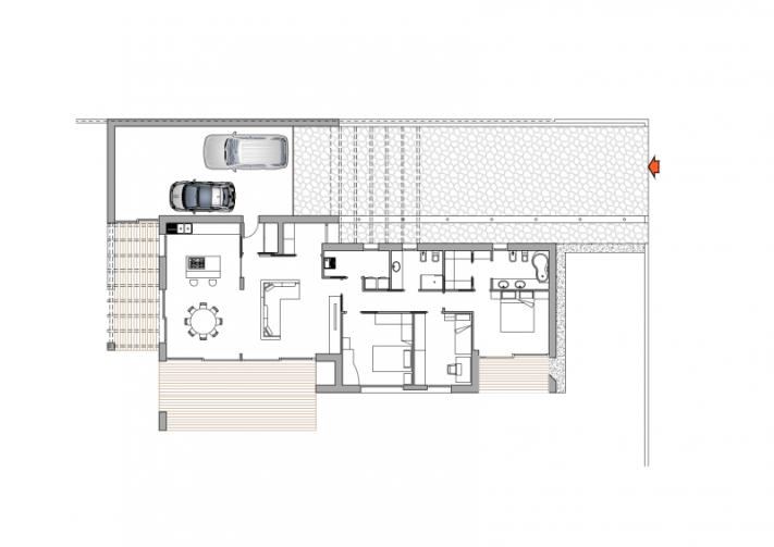 Abitazione unifamiliare passiva studio pasin progetti for Progetto casa piccola