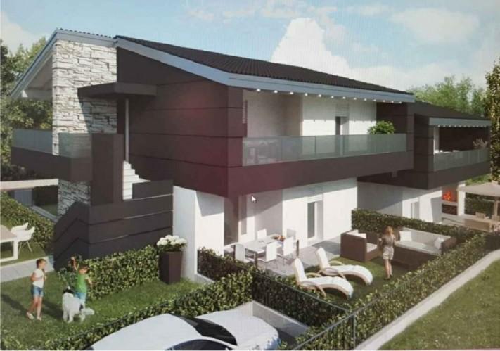 Palazzina di quattro appartamenti studio pasin progetti for Palazzine moderne
